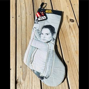 Star Wars Christmas Stocking Rogue One Rey New NWT